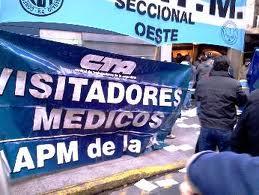 PARO DE VISITADORES MÉDICOS