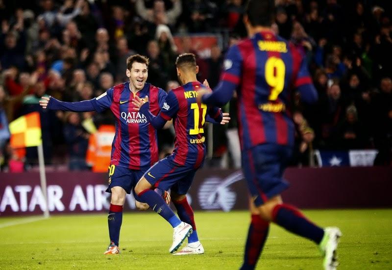 Liga Spanyol : Barcelona 5 – 1 Espanyol