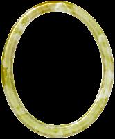 Moldura oval em png