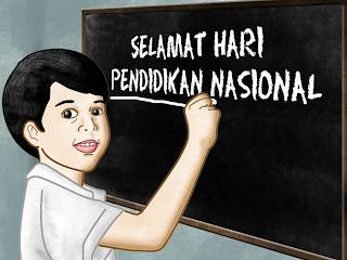 Mewarnai Hari Pendidikan Nasional