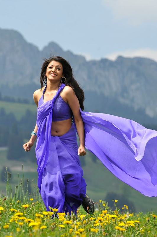 Kajal Aggarwal in Saree Photos hot images