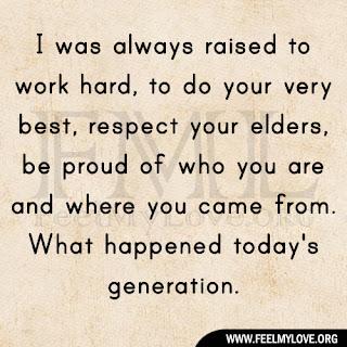 I was always raised to work hard
