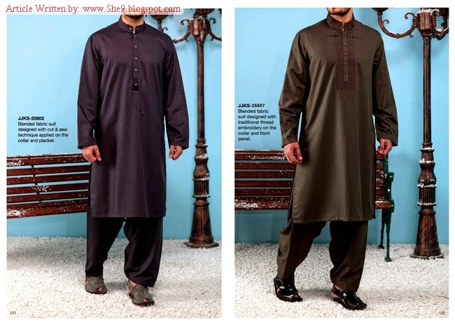 Junaid Jamshed Winter Men Kurta-Salwar
