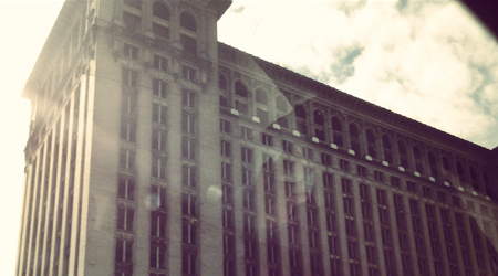 Michigan Central Station, Home of Transformers. And other movies like Transformers.