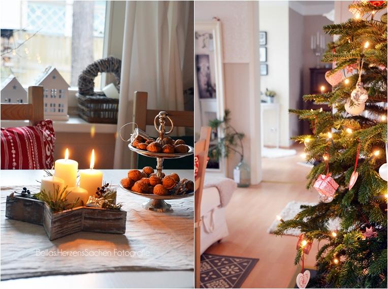 Gemütliche Weihnachtsdeko, Interieur, Dekoration Blog