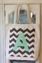 Chevron Tote Bags