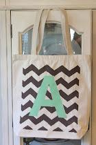 Chevron Tote Bags