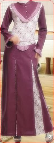 model baju batik muslim kuliah