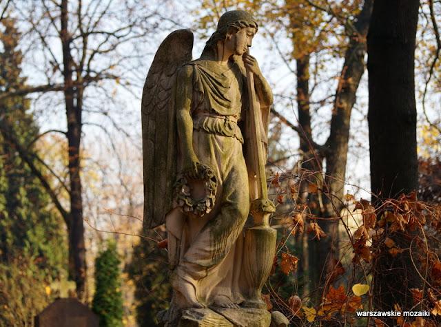 Warsaw Warszawa waszawskie cmentarze Wola Młynarska nekropolia nagrobek