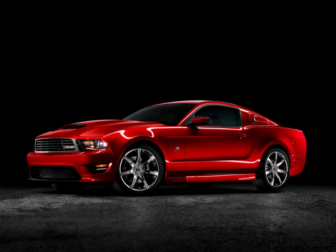Red Ford Mustang Desktop Wallpaper | Mega Wallpapers