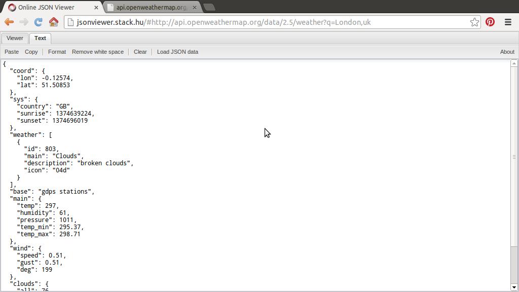 Java Buddy Openweathermap