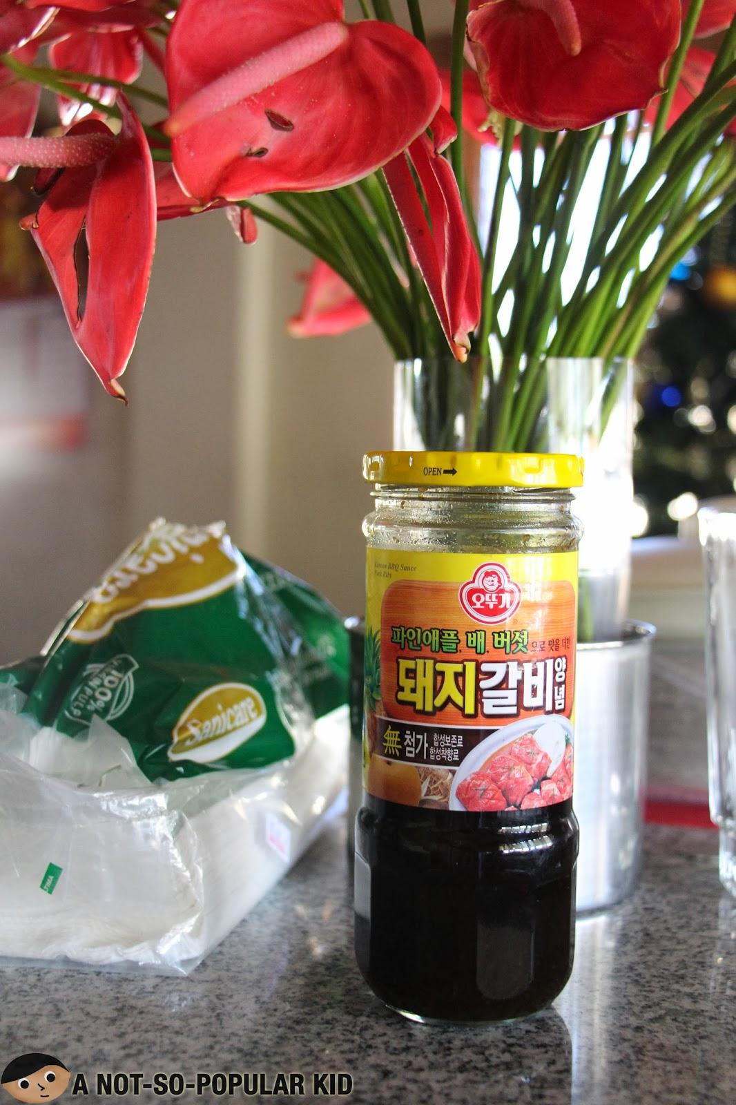 Korean Barbecue Sauce for Samgyeopsal