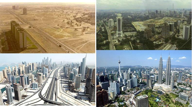 Estas fotos revelan cuán rápido está cambiando el mundo