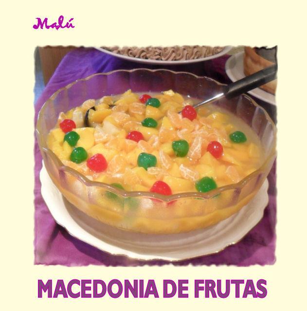 Cocinando y jugando entre harina macedonia de frutas con - Macedonia de frutas thermomix ...