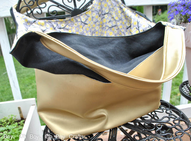Color Blocked Leather Bag