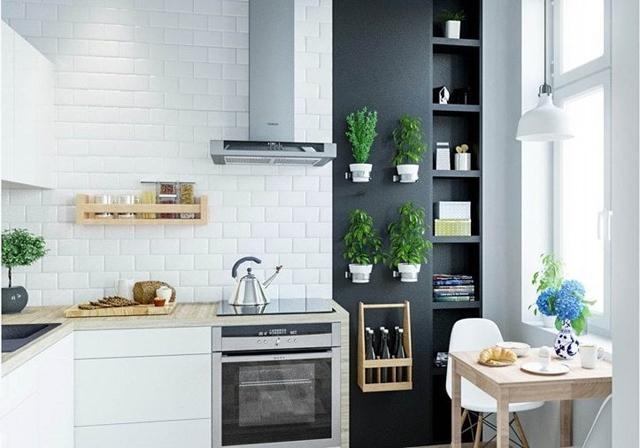 C mo decorar una cocina peque a cocinas con estilo for Como amueblar una cocina pequena