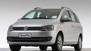 Fotos do Novo SpaceFox 2014 da Volkswagen frente