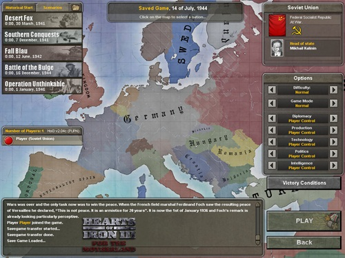 Hearts of Iron III: Their Finest Hour + DLC Collection - PC (Download Completo em Torrent)