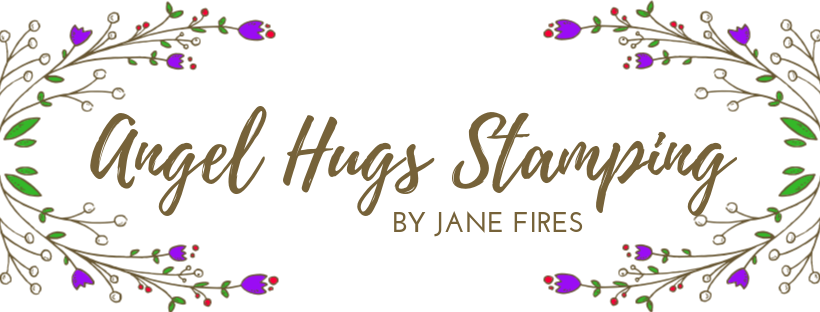 Angel Hugs Stamping by Jane Fires