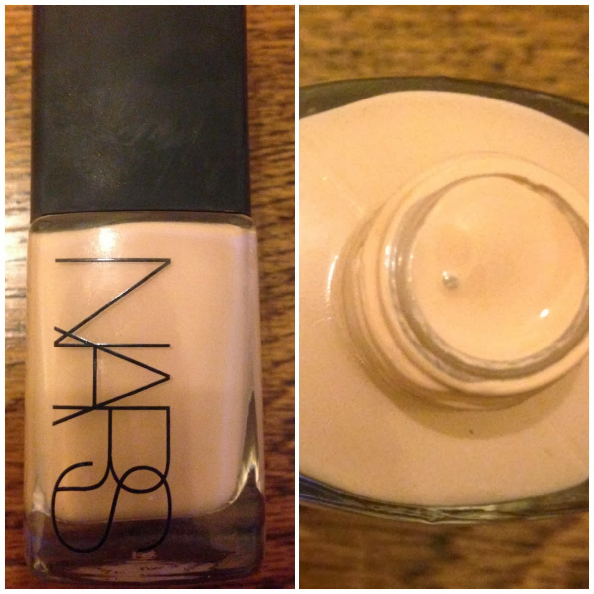 nars sheer glow foundation in mont blanc