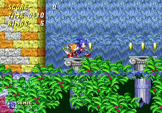 day 106 game 106 - Sonic Open Christmas Day