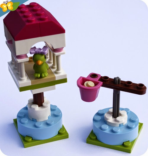 LEGO® Friends Animaux - Série 3 - Le perroquet et son perchoir
