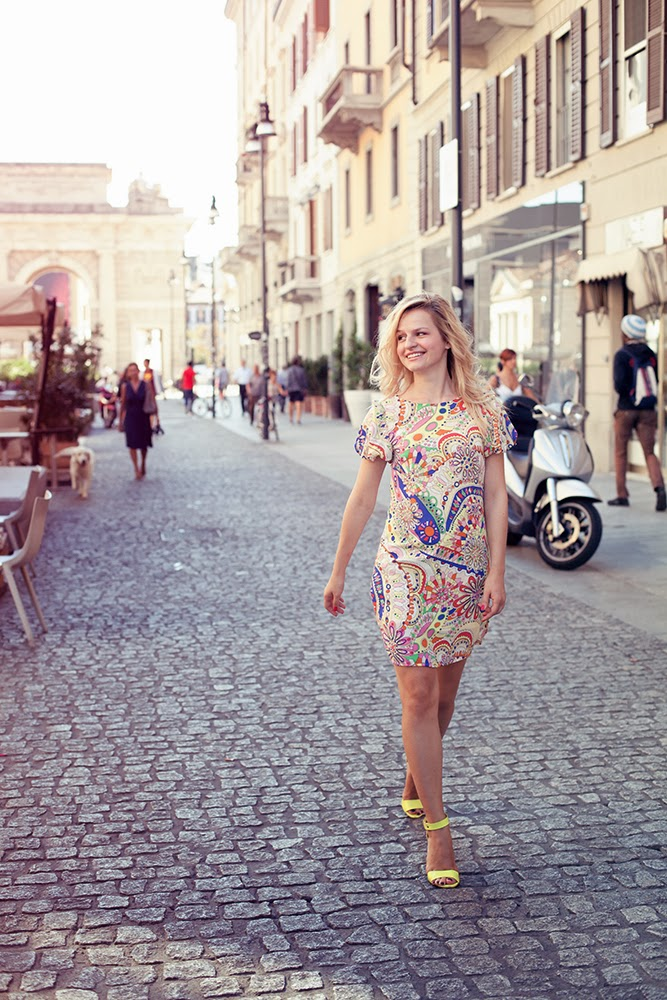 Модный лук винтажное платье,коллекция луков