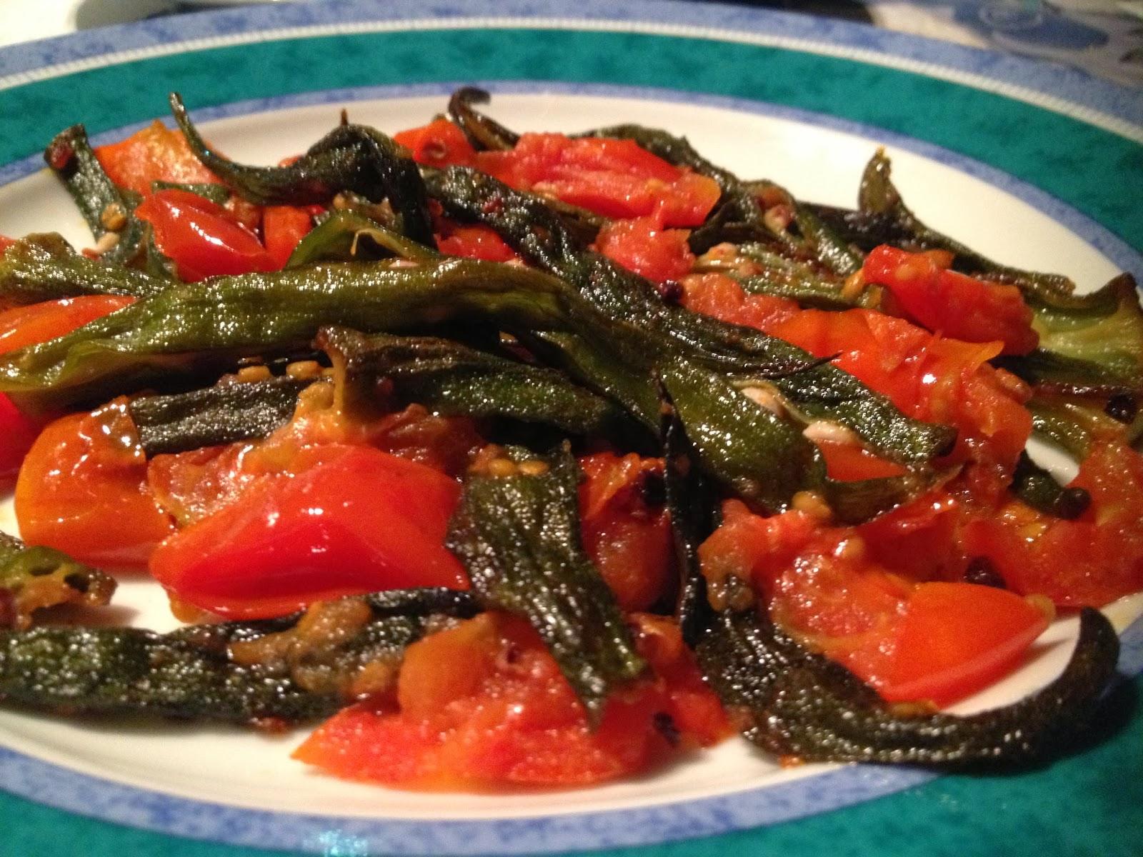 Swanza blog okra saltati in padella for Gombo ricette