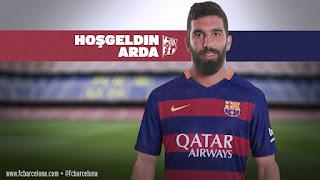 Arda Turan Resmi Milik Barcelona