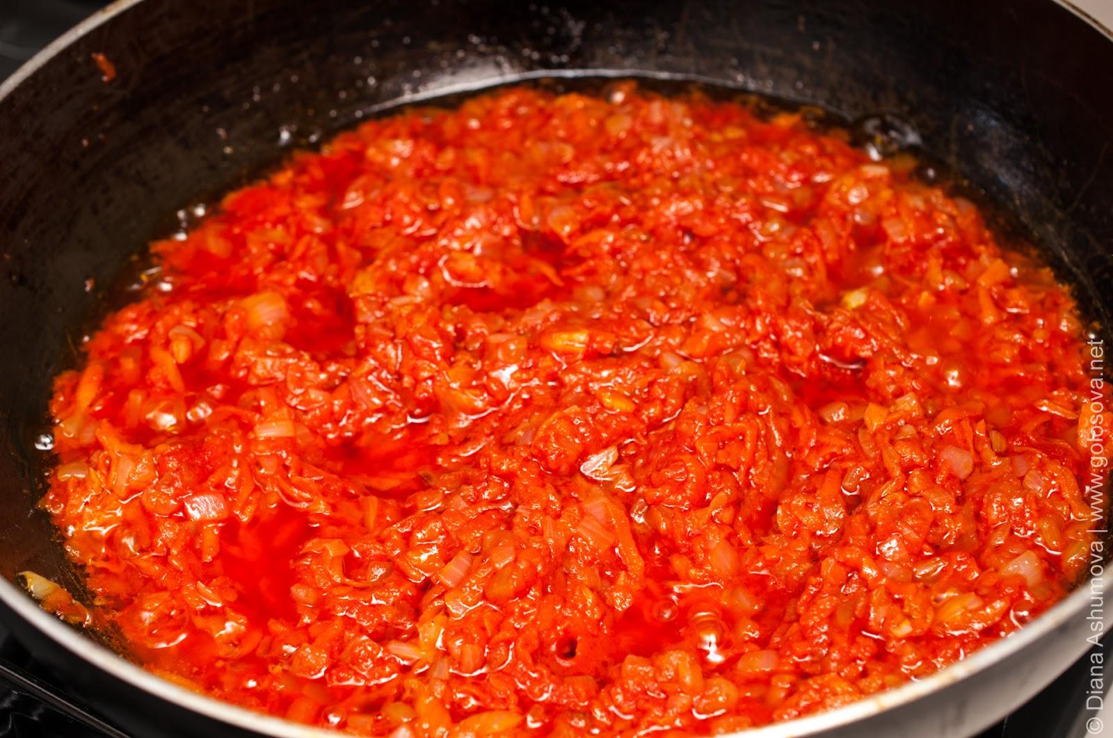 Соус с морковью и помидорами рецепт