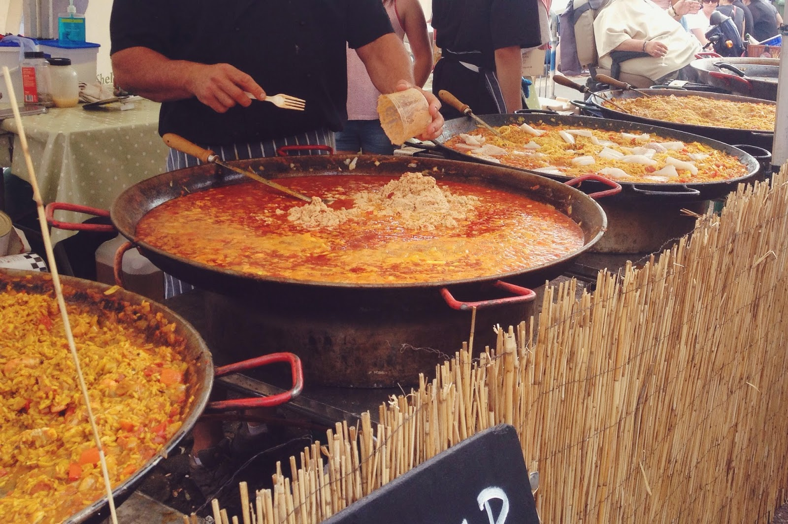 Dorset Seafood Festival, food blog, lifestyle blog, food festival, paella