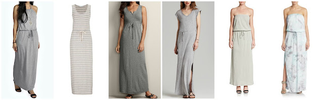 Boohoo Ruth Halter Tie Waist Maxi Dress $16.00 (regular $26.00)  Maurices Maxi Dress with Stripes $23.40 (regular $39.00)  Eddie Bauer Heley Maxi Dress $34.99 (regular $70.00)  Splendid V-Neck Slit Maxi Dress $39.99 (regular $138.00)  C&C California Strapless Slub Knit Cotton Maxi Dress $39.99 (regular $108.00)  Young Fabulous & Broke Britt Maxi Dress $47.99 (regular $190.00)