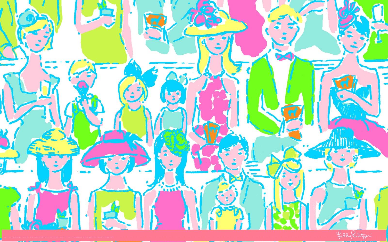 free lilly pulitzer desktop wallpapers shopaholics