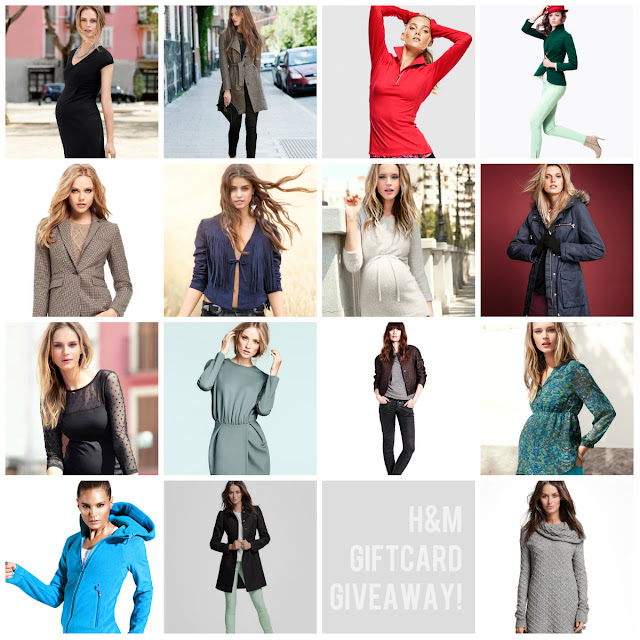 Undone Blog GIVEAWAY!  Giftcard to H&M!