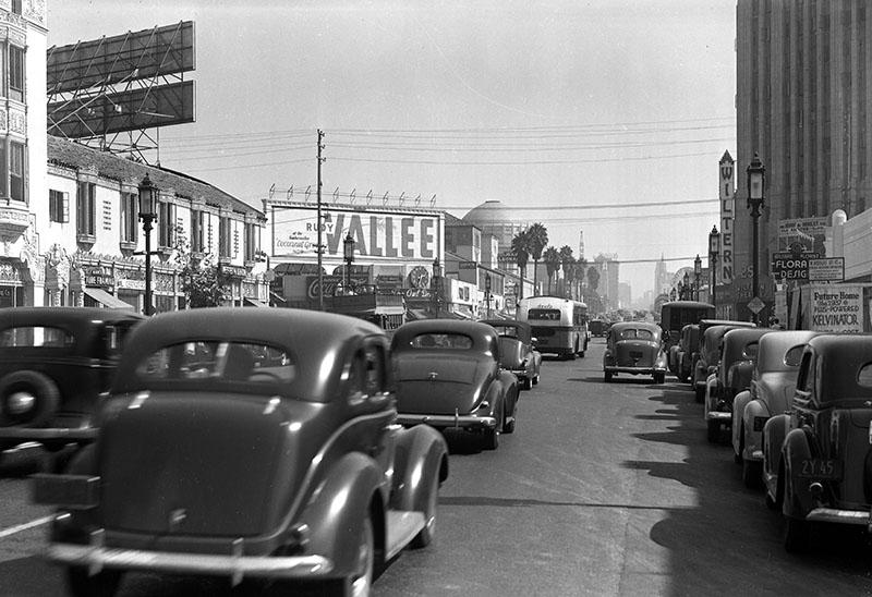 Wilshire Blvd., LA. 1937
