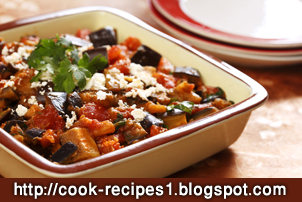Cook Recipes: Moroccan eggplant with tomatoes