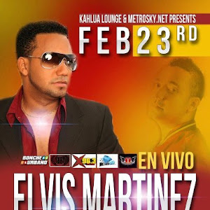 Elvis Martinez, 23 de febrero@Kahlua Lounge, New York City