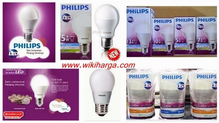 Harga Lampu LED Philips 2015 di Jakarta
