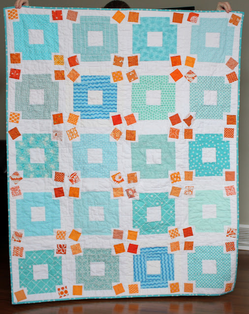 Jumble Quilt Pattern by Andy of A Bright Corner -