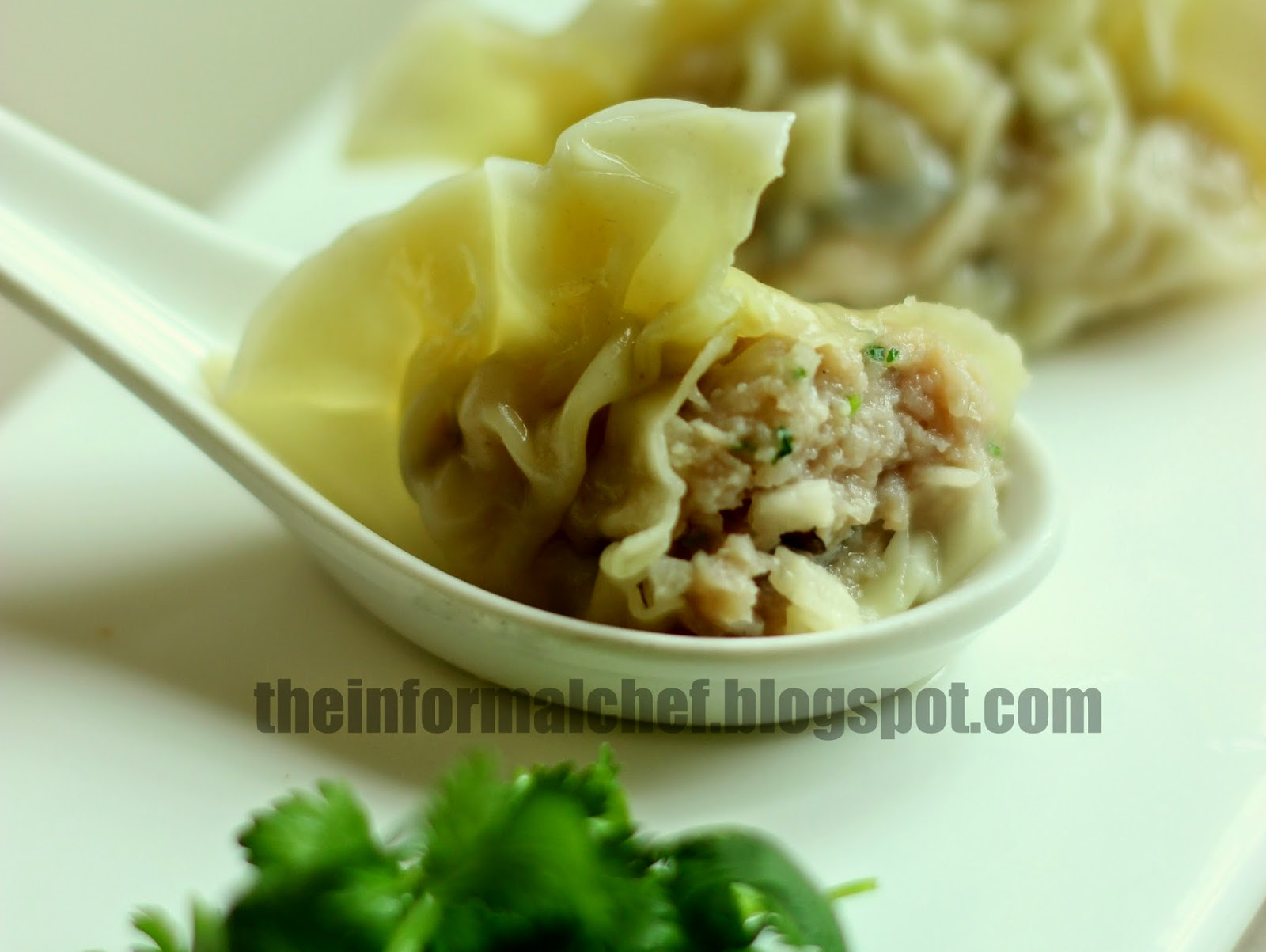 The Informal Chef: Chinese Dumpling Soup (Sui Kow) 水餃
