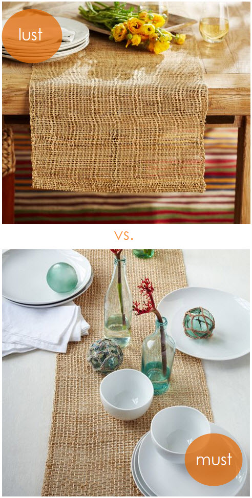 Look-alikes: Table Runners