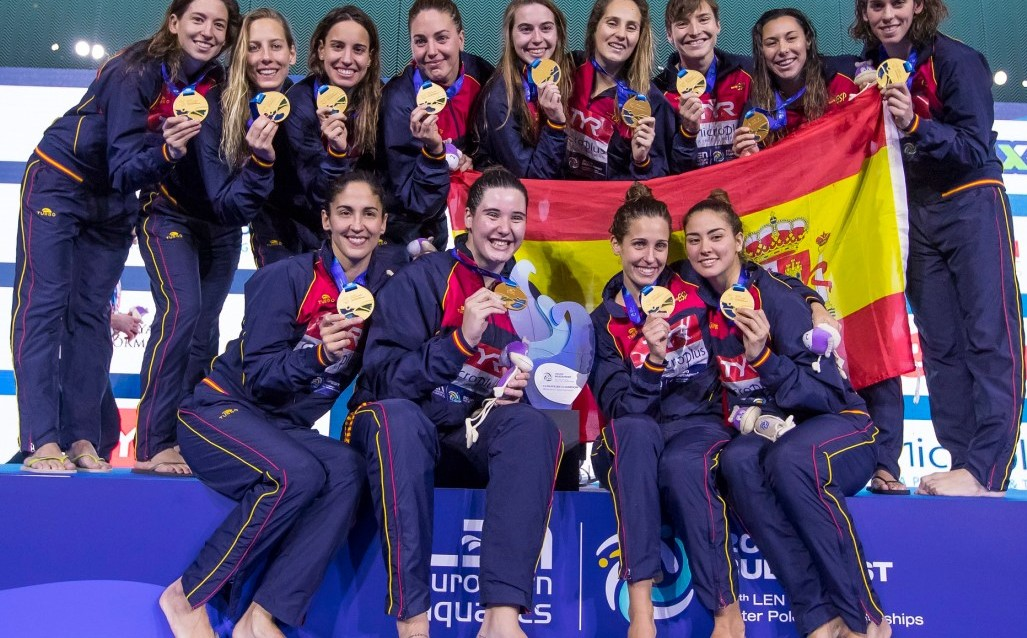 Spain - European Champion Women, Budapest 2020