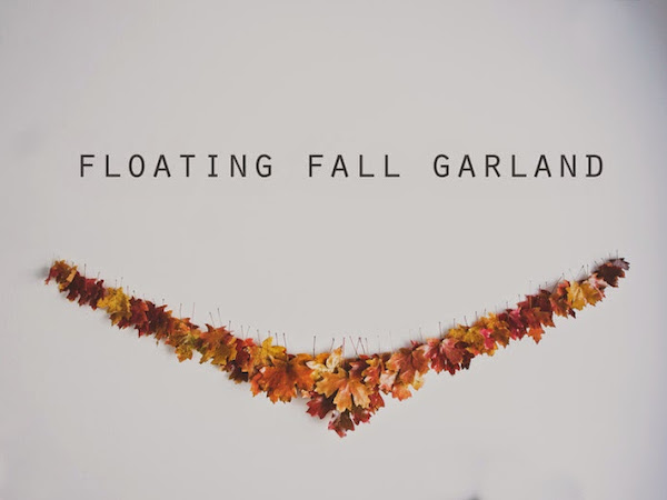 Floating Fall Garland