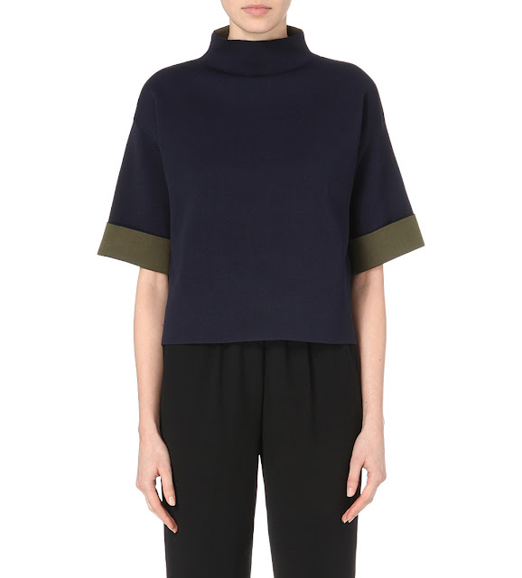 whistles funnel neck jumper,