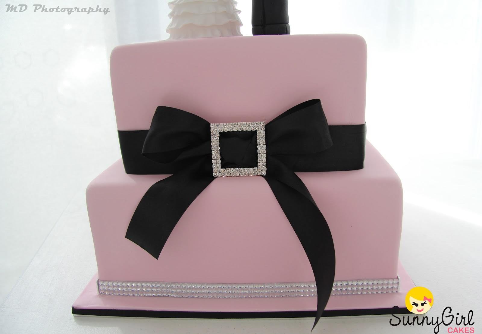 Pink and Black with a little Bling