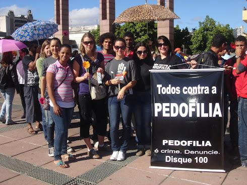 18 de Maio na Praça da Estação em Belo Horizonte - MG
