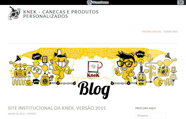 KneK Blog no Wordpress