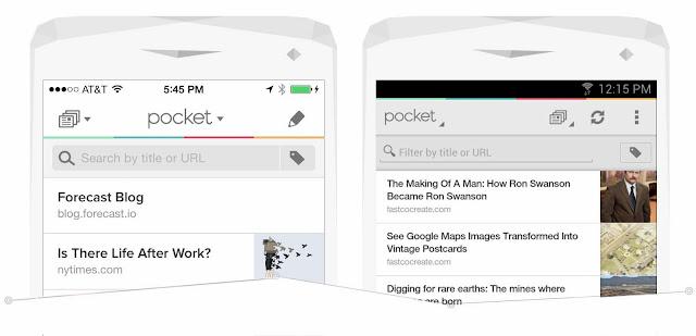 Pocket 使用者經驗設計