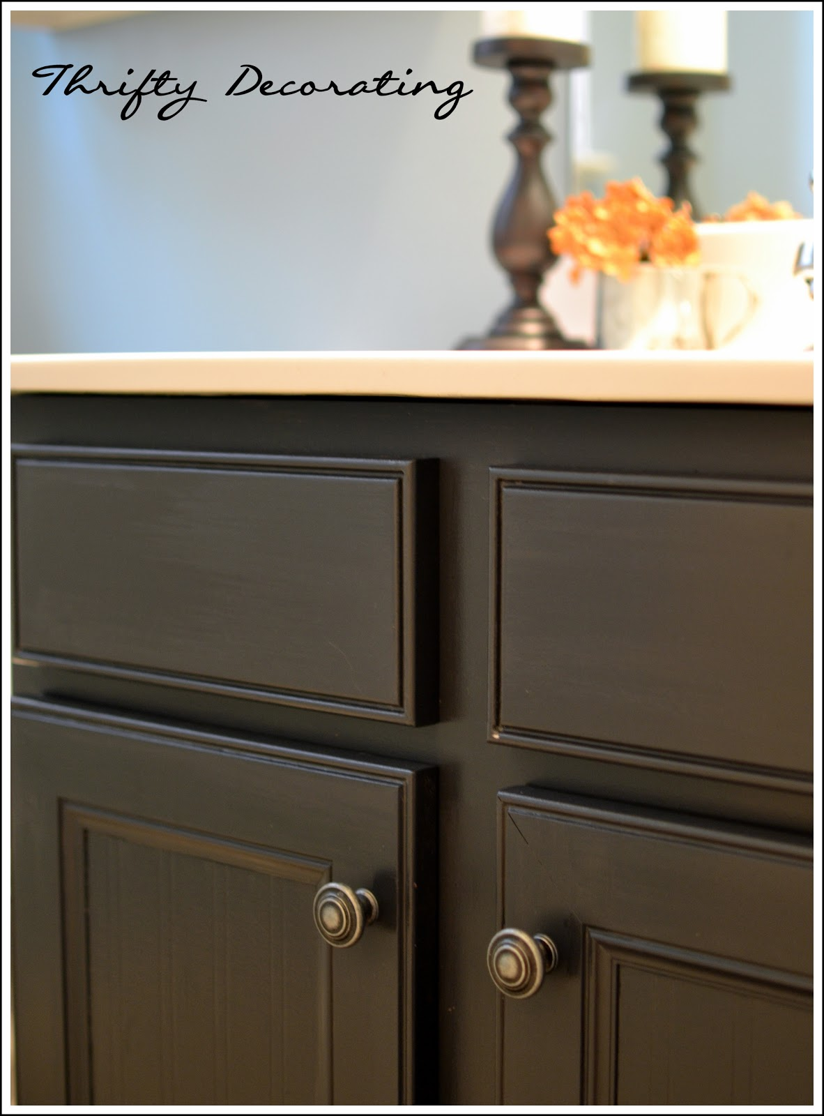 thrifty decorating standard builder 39 s cabinet upgrade