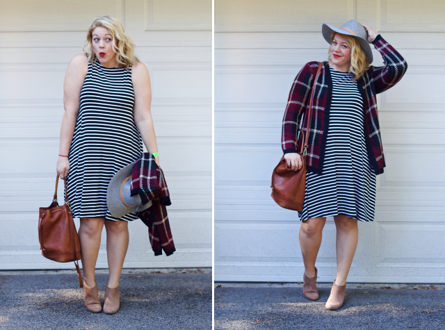 How to turn a summer dress into a fall look